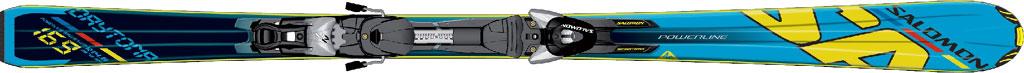 Salomon 24 Daytona + Z10. Кликнуть для увеличения